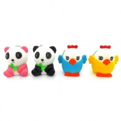 Panda & Chicken Squishy