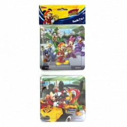 Puzzle 2 in 1 Mickey and the Roadster Racers