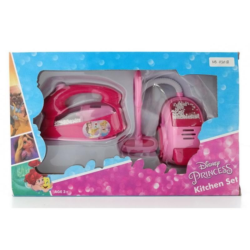 Disney Princess Kitchen Set Vacuum Cleaner Iron Happy Toon Toko Mainan Online Jual Mainan Anak