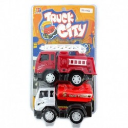 Truck City - Fire Fighter & Tank Truck