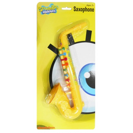 Spongebob Yellow Saxophone