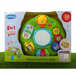 2 in 1 - Play Learn Fun - Musical Learning Table