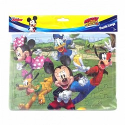 Puzzle Large - Mickey Mouse - Clubhouse Friends