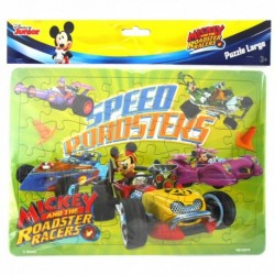 Puzzle Large - Mickey Mouse - Speed Roadster