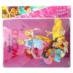 Puzzle Large - Disney Princess - Explore Yourt World