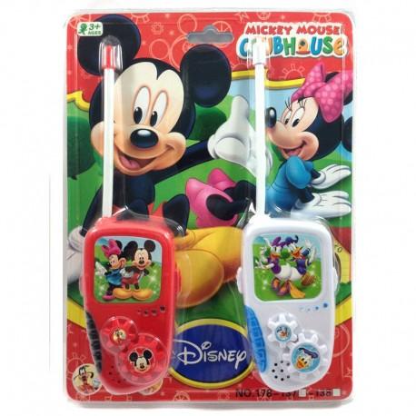 Mickey Mouse Walkie Talkie