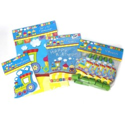 TrainTheme - Party Supplies