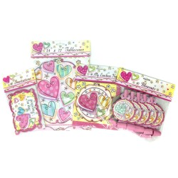 Heart Theme - Party Supplies