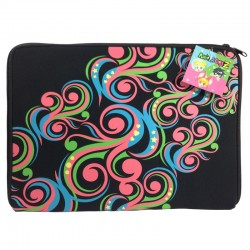 Powerpuff Girls Z Black laptop sleeves