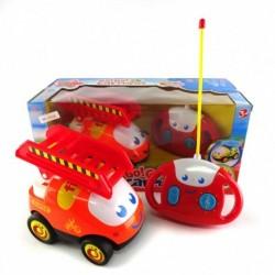 Go Go Car Playset - Fire Car - Mainan Mobil Pemadam dengan remote kontrol