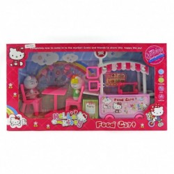 Hello Kitty Food Cart - Mainan Gerobak Makanan