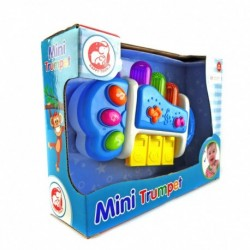 Happy Toon Baby - Mini Trumpet - Mainan alat musik terompet mini
