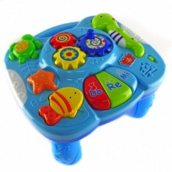 Happy Toon Baby - Musical Learning Table - Mainan meja musik