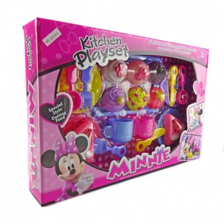 Minnie Kitchen Playset - Mainan kue