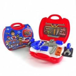 Paw Patrol Tool Set - Mainan alat tukang kayu dengan koper