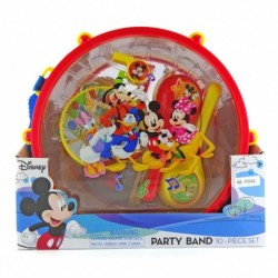 Mickey Party Band - Mainan set alat musik