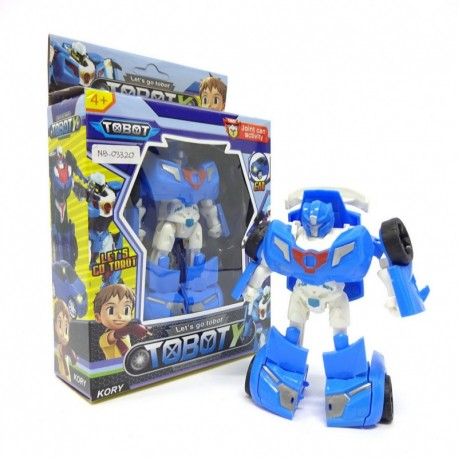 Tobot Y - Blue Robot Car - Mainan robot