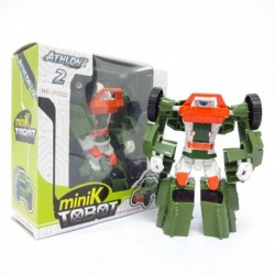 Atlon 2 Mini K Tobot - Green Truck - Mainan robot