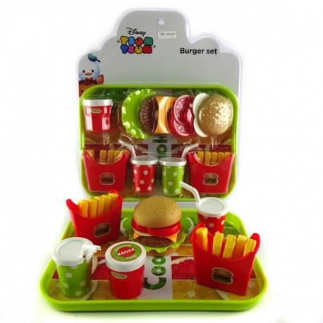 Tsum Tsum Burger Set - Mainan burger