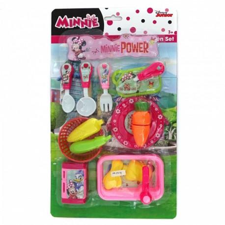 Minnie Kitchen Set - Minnie Power - Mainan Masak-masakan