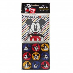 Puzzle 2 in 1 Mickey 90 Years B