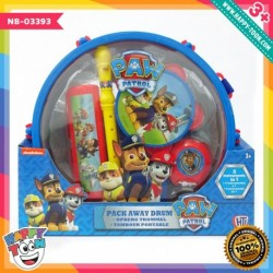 Paw Patrol Pick Away Drum - Mainan Set alat musik
