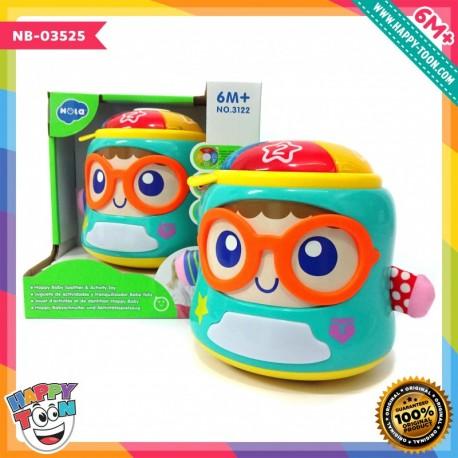 Hola - Happy Baby Soother & Activity Toy - Mainan Aktivitas Bayi