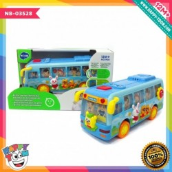 Hola - Little Learners Activity Bus - Mainan Bus