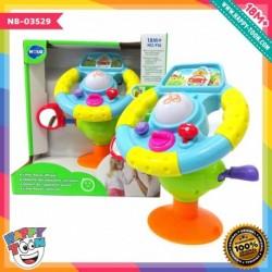 Hola - Little Racer Wheel - Mainan Setir mobil