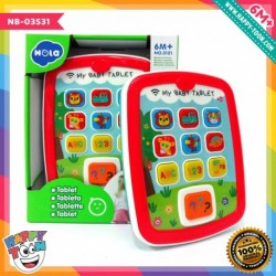 Hola - My Baby Tablet - Mainan Tablet Bayi