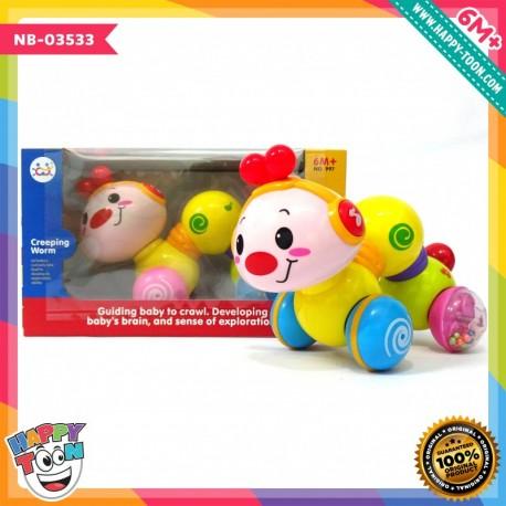 Hola - Creeping Worm - Mainan Ulat Meluncur