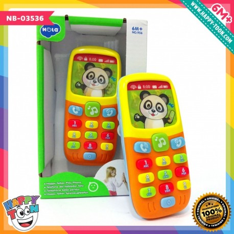 Hola - Happy Talker Play Phone - Mainan telepon bayi