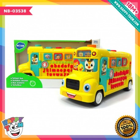Hola - School Bus - Mainan Bus Sekolah