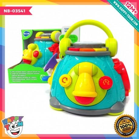 Hola - Little Karaoke Space Capsule Activity Toy - Mainan Kotak Musik