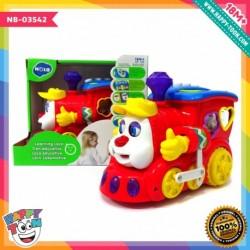 Hola - Learning Loco - Mainan kereta api belajar bentuk