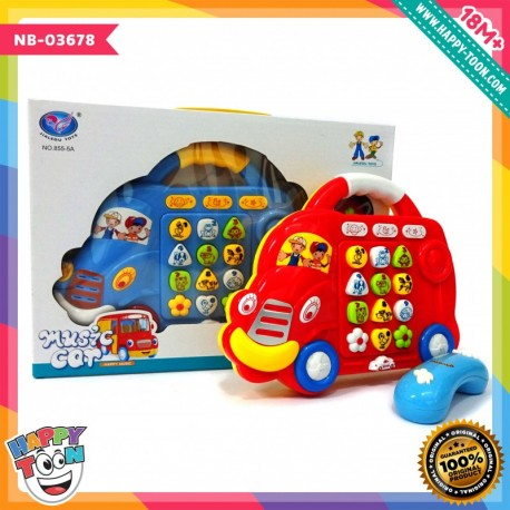 Music Car - Telephone Toy