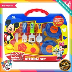 Mickey Mouse Tableware Suit Kitchen Set