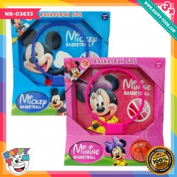 Mickey dan Minnie Basketball Set