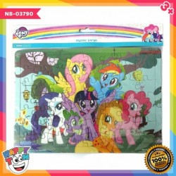Puzzle Large My Little Pony - Forest