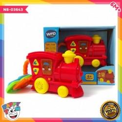 Baby My 1st Train Key Rattle - Mainan Kereta Api dengan rattle