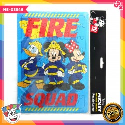Puzzle Large Mickey Mouse Fire Squad