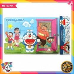Puzzle Regular - Doraemon Pintu Kemana Saja