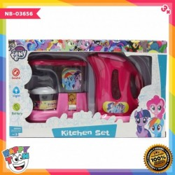 My Little Pony Kitchen Set - Coffee Maker & Water Thermos