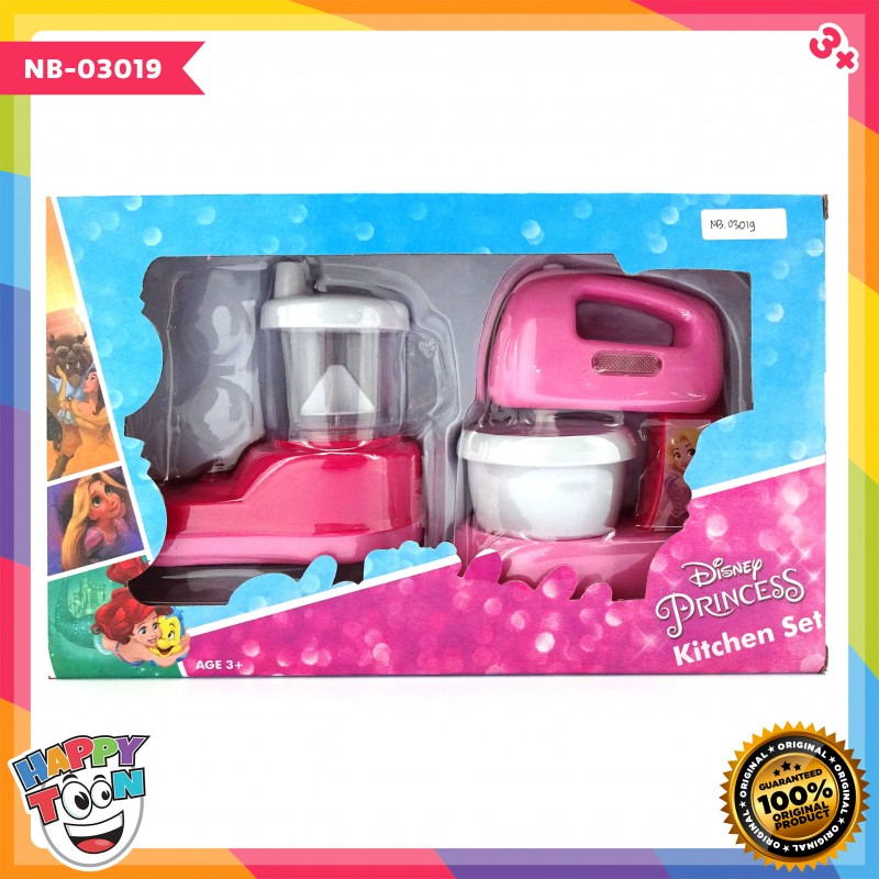 Disney Princess Kitchen Set Mixer Juicer Happy Toon Toko Mainan Online Jual Mainan Anak