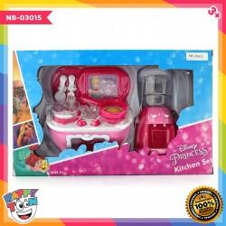 Disney Princess Kitchen Set - Water Dispencer & Gas Stove