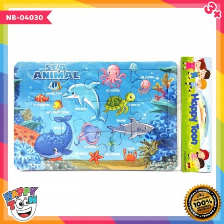 Puzzle Regular - Sea Animal - Binatang Laut