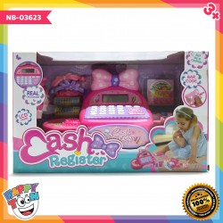 Mainan Cash Register Mesin Kasir dengan Kalkulator Asli NB-03623