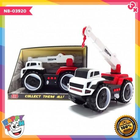 Mainan Mobil Konstruksi Contruction Crane Car NB-03920