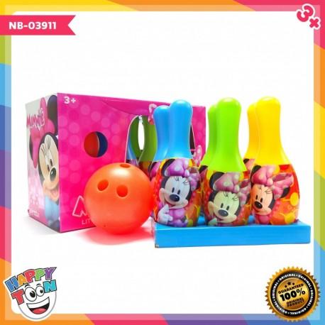 Mainan Bowling Minnie Little Celebrity NB-03911
