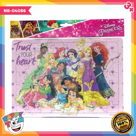Puzzle Large - Disney Princess - Trust Your Heart